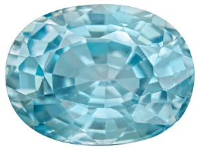 Blue Zircon 8x6mm Oval 2.00ct Minimum Mixed Cut