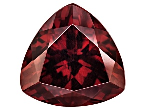 Red Zircon 10.8mm Trillion 5.60ct