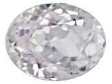 White Zircon 9x7mm Oval Mixed Cut 2.00ct