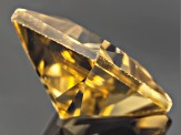 Yellow Zircon 7mm Princess Cut 2.00ct