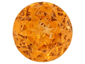 Garnet Spessartite 6.5mm Round 1.15ct