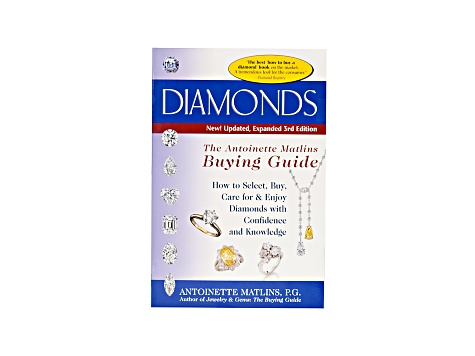 Diamonds: The Buying Guide Bby Antoinette Matlins, 3rd Edition Paperback Version.