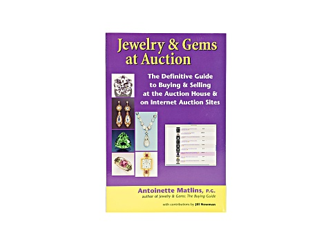 Jewelry And Gems At Auction Antoinette Matlins Paperback Edition