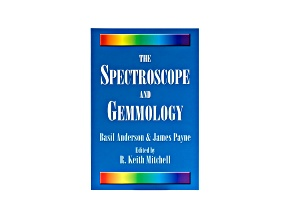 The Spectroscope And Gemmology Book By Basil Anderson And James Payne