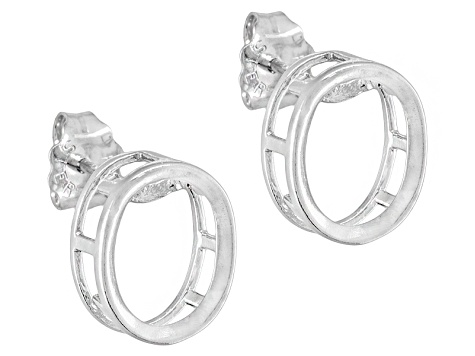 Gemgroove Nostalgia ™ S/S 8x6mm Ov Back Set Bezel Earring Castings