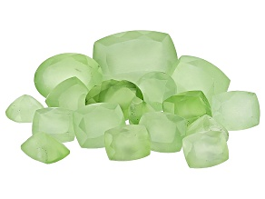 Prehnite 100.00ctw mm Varies  Mixed Shape Parcel Mined: Australia/Cut: india