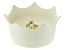 VitaJuwel (R) CrownJuwel Pet Dish in Natural White