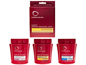 Connoisseurs ® All Jewelry Cleaning Kit: Assorted Jewelry Cleaner And Cloth