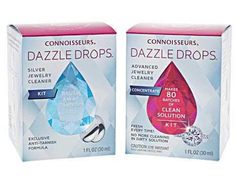 Advanced Jewelry Cleansing And Silver Jewelry Cleansing Dazzle Drops