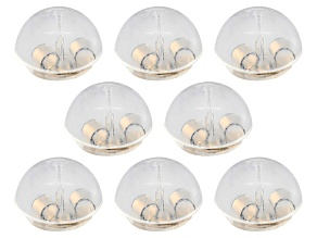 8 Piece Set Of 14k Yellow Gold Over Sterling Silver Silicone Bubble Earring Backs