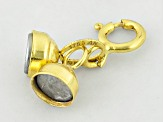 Magnetic Clasp Converter in 14k Yellow Gold