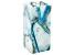 Aqua Blue Agate Vase Measures Appx 9x4in