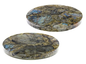 Labradorite Coaster Set of 2