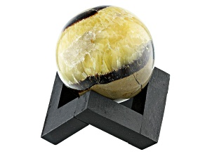 Septarian Decorative Sphere Appx 50mm with Stand