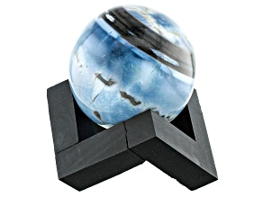 Blue Opal Decorative Sphere Appx 50mm with Stand