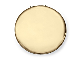 Compact Mirror Gold Color