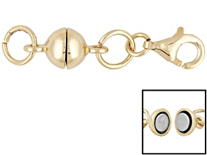 Magnetic Clasp Converter 18 Karat Gold Over Sterling Silver