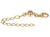 Magnetic Clasp Converter 18 Karat Gold Over Sterling Silver With 2 inch Extension Chain