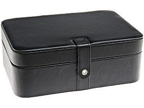 Jewelry Box Lila Black Faux Leather By Mele & Co.