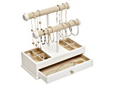 Jewelry Box & Organizer Ivy in White