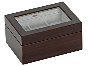 Wooden Watch Box Granby in Mahogany Finish