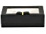 Jewelry Box Dixie in Black Faux Leather