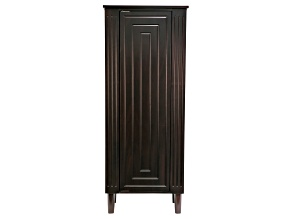 Wooden Jewelry Armoire Sicily in Java Finish