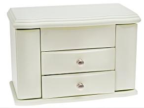 Angelica Ivory Jewelry Box