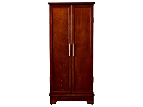 Jewelry Armoire Lynwood Dark Walnut Finish