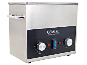 GemOro (TM) 3QTH Next-Gen Stainless Steel Ultrasonic with Heat