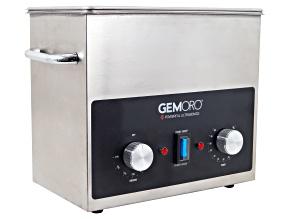 GemOro (TM) 3QTH Next-Gen Stainless Steel Ultrasonic with Heat