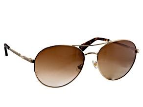 Kate Spade Joshelle Light Gold/Brown Sunglasses