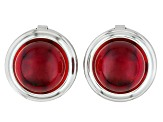 Pre-Owned Red Amber Button Cover 12mm Round Set Of 2