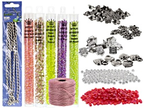 Pre-Owned Beading Kit With Findings And Miyuki Beads