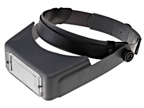 "Pre-Owned Clearsight Pro ™ Headband Magnifier Lens 1.75x With 8"" Focal Length Adjustable Headband"