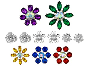 Pre-Owned Floral Connector Kit Contains 11 Pieces In Assorted Shapes, Sizes & Colors
