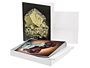 Sisk Gemology Reference Gift Cards With Assorted Pictures Set Of 8