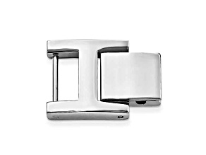 15mm X 14mm H-Clasp Stainless Steel Fold-Over Extender