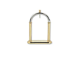 Charles Hubert 14k Gold-Plated Pocket Watch Stand