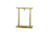 Charles Hubert 14k Gold-Plated Brass Stand For Pocket Watch