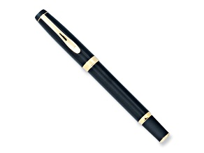 Charles Hubert Black And Gold-Tone Rollerball Pen
