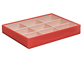 Stackables Large Deep Jewelry Tray Coral By Wolf
