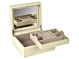 London Square Jewelry Box Cream By Wolf