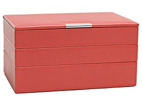 Stackables Medium Jewelry Tray Set Coral By Wolf