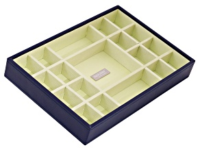 Stackables Medium Standard Jewelry Tray Purple By Wolf