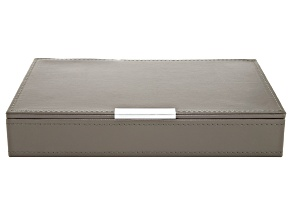 Heritage Stackables Medium Tray with Lid Dark Gray by Wolf
