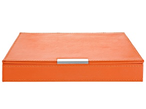 Heritage Stackables Medium Tray with Lid Orange by Wolf