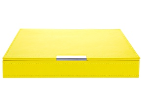 Heritage Stackables Medium Tray with Lid Yellow by Wolf