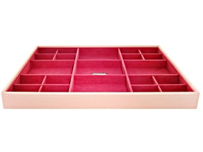 Stackables Large Standard Tray Blush by Wolf