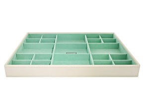 Stackables Large Standard Tray Ivory by Wolf